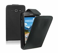 Leather Flip Case Cover Pouch for Huawei Ascend Y530 / +2 SCREEN PROTECTORS
