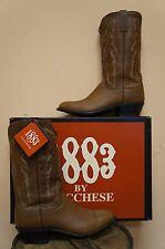 MENS LUCCHESE COWBOY BOOTS! N1524.R4! 1883 COLLECTION! MADE IN USA!