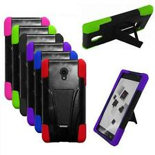 Phone Case For LG Lucid 2 Rugged Hard Cover wStand/ VS870 Accessories
