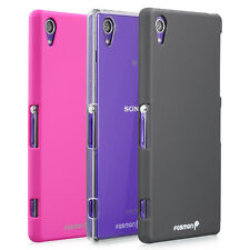 Rubber (PC) Slim Fit Snap-On Durable Armor Phone Case Cover for Sony Xperia Z1S