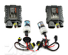 2x 55W Xenon Slim HID Conversion Kit Wireless Ballast H3 6000K 8000K 1000K Bulbs