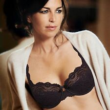 PLAYTEX Elegance Flower Lace Black Full Cup Classic Bra 32 - 42 D to G Cup