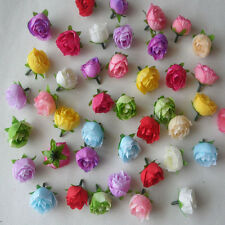 Wholesale50-100pcs Simulation small tea bud small flowers wedding12color choices