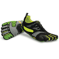 Vibram Five Fingers Kmd Sport Ls Mens Barefoot Trainers Black Green All Sizes