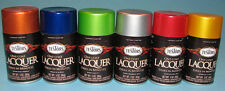 Testors One Coat Lacquer 3oz.Spray - Now 20 brilliant colors to choose from!