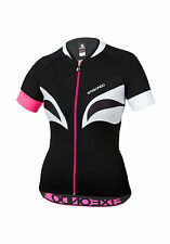 Women's ETXEONDO Aroa TX Short Sleeve CYCLING JERSEY in Black (30224)