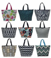 Defective Thirty one thermal organizer Picnic tote bag happy dot & more 31 new