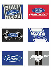 Choose FORD Motors Theme 5 x 8' Tailgater Ulti-Mat Indoor Outdoor Floor Mat Rug