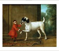 """JOHN WOOTTON """"Monkey Dancing With Poodle"""" new CANVAS! various SIZES, BRAND NEW"""