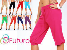 Women's cropped Pants Trousers Harem Shorts Tailles 8-18 Activewear FK1171