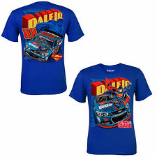 Dale Earnhardt Jr 2014 Chase Authentics #88 Superman Blue Tee FREE SHIP!