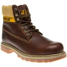 New Mens Caterpillar Brown Colorado Leather Boots Work Lace Up