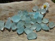 Raw Natural Untreated River Tumbled Rough Blue Topaz Crystal PURE MANIFESTATION