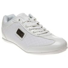New Mens Henleys White Diamond Synthetic Trainers Lace Up