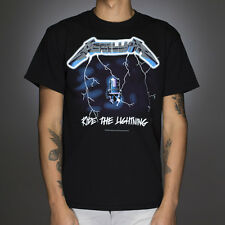 OFFICIAL Metallica - Ride the Lightning T-shirt NEW Licensed Band Merch ALL SIZE