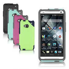 OtterBox HTC One M7 Commuter Case Black, Lilac Purple, Steel Blue Cover OEM New