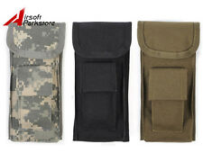 ROGISI 1000D Molle Tacitcal Military Accessory Tools Flashlight Pouch 3 Colors