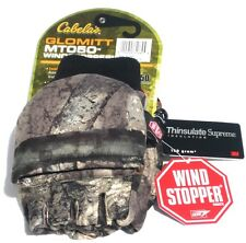New Cabela's MT050 Windstopper Glomitts Archery Hunting Gloves GTX S,M,L,XL, 2XL