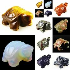 A4849 Carved Gemstone Turtle Home&Garden Decoration, More Material, Handmade