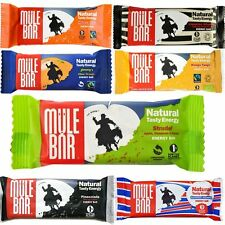 Mulebar Fairtrade Organic Natural Energy Carbohydrate Bar Box of 24 bars x 56 g