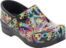Dansko Professional Clog Psychedelic Patent Womens sizes 36-42/6-12 NEW!!
