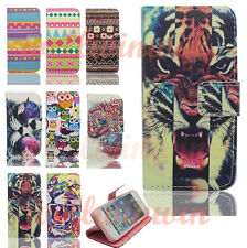 Flip PU Magnetic Leather Cover Wallet Stand Case For Samsung S3 Mini i8190 i9190