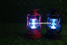 1PC Solar Lantern Camping Outdoor 7LED Hand Charger Antique Light Lamp CA D099