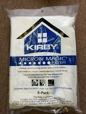 KIRBY VACUUM CLEANER vaccum WHITE CLOTH HEPA FILTER ALLERGY DISPOSABLE BAGS