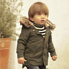 Cool2day Clothes Boy Kid Warm Boy Jacket Child Coat Outfit Kid Coat Outwear NEW