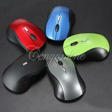 4D 2.4GHz Wireless Optical Game Mouse Mice 1600DPI + USB Receiver for PC Laptop