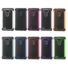 HYBRID RUGGED HEAVY DUTY IMPACT HARD ARMOR CASE COVER SKIN FOR LG G3 D850 D855