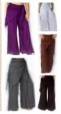 @Q551 PANT BELL BOTTOM SCARF FLIRTY STUNNING RAYON LOTUSTRADERS MADE TO ORDER