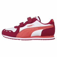 Puma Cabana Racer SL V Kids Purple White 2014 Youth Running Shoes Sneakers