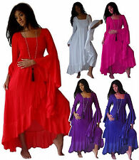 @Q974 CHIFFON WRAP DRESS STUNNING CLASSY DESIGN MISSES/PLUS MADE TO ORDER