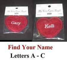 Ganz My Very Own Angel Personalized Heart Ornament Choose Your Name A B C