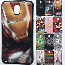 Shockproof Superhero Hybrid case cover for Samsung Galaxy Note 3 Neo LTE N7505
