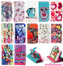 Deluxe Flip PU Leather Wallet Pouch Stand Case Cover For LG Optimus L70 D325