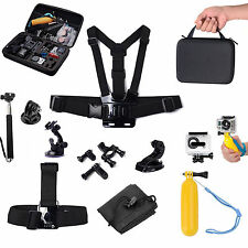 Luxebell Head Chest Strap Tripod Bag Mount for GoPro Hero 1 2 3 3+ Accessories