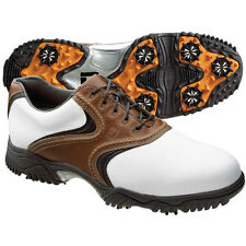 NEW FootJoy Mens Contour Underlay Saddle Golf Shoes #54002 - Choose Size/Width