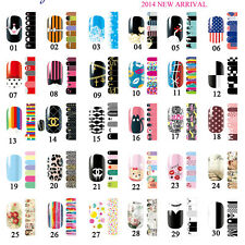 Simple Nail Art Nail Decals Manicure Water Transfer Stickers Tips Decoration