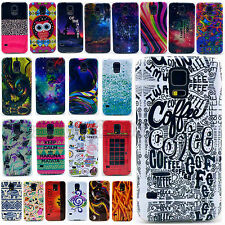 Fashion Paint Pattern Hard Skin Case Cover For Samsung Galaxy S4 S5 i9500 i9600