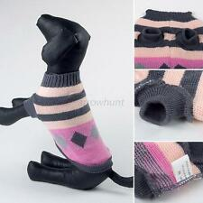 Dog Sweater - Pet Clothes Puppy Jacket Coat Jumper Warm Knit Tops Clothing