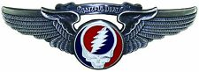 Grateful Dead Rock Wings Pilot Flight Pin For Sky High Hippies - 19 Styles