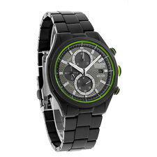 Citizen Eco-Drive Mens Drive AR2.0 Black Ion Chrono Watch CA0435-51E