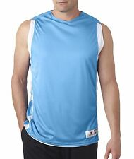 Badger Tank Top B8551 Solid Men's B-Slam Reversible Basketball