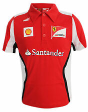 Puma Ferrari SF Tram Polo Shirt Juniors Boys (761019 01) R14