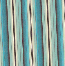 Dolls House Wallpaper 1/12th 1/24th scale Blue Stripe Quality Paper #260