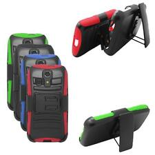 Phone Case For Kyocera Hydro Icon / Hydro Life Holster Rugged Hard Cover Stand