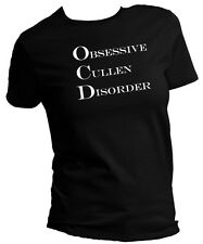 "Twilight Spoof OCD ""Obsessive Cullen Disorder"" T-Shirt Womans XS to 4XL"