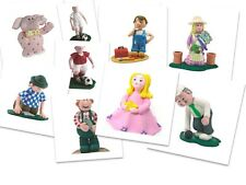 Cake Figures Topper Toppers Claydough Decoration Non Edible Birthday Christening